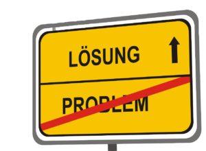 Problem weg - hin zur Lösung